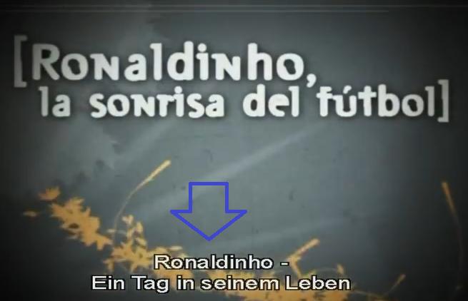 ronaldinho wurde schlecht